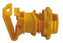"IRPXLY - 7⁄8"" Rod Post Insulator- Yellow"
