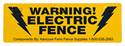 MFSK - Kencove Aluminum Warning Sign