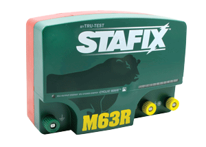 Stafix M63R Energizer with Remote