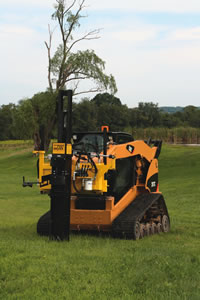 Kiwi Self-Contained Skid Steer Mounted Driver