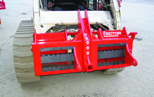 Vector Skid Steer Mounting Plate