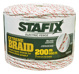 "Stafix X-Braid 1⁄3"" Diameter 660'"