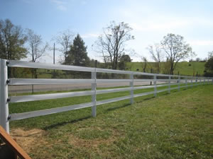 HotTop&#174 Plus Fence Rail, 4¼""