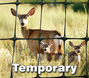 Temporary Deer Fence