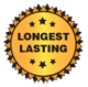 Longest lasting badge
