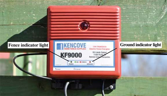 Kencove Remote Fence Charger