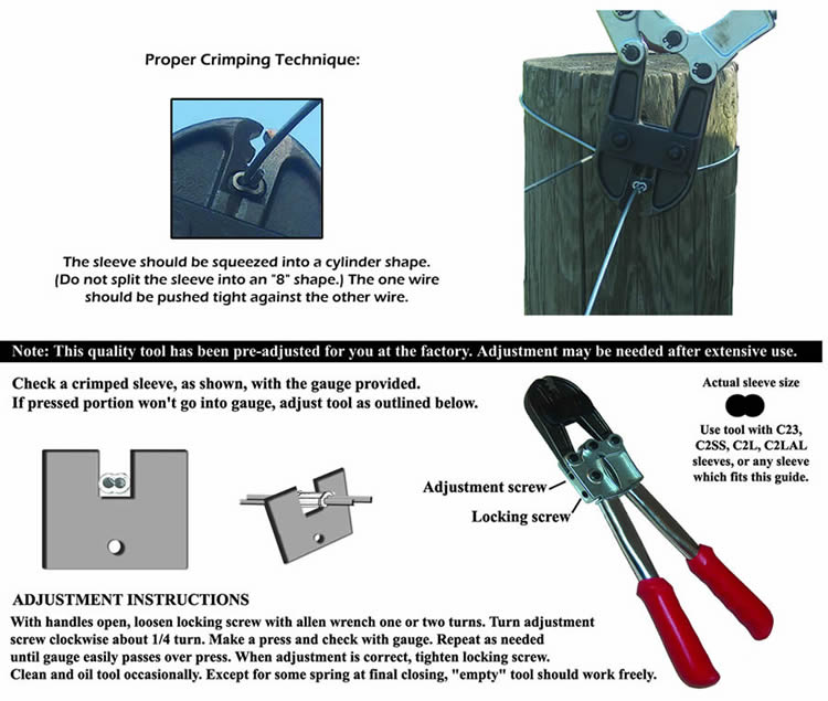 Crimp Tool Usage