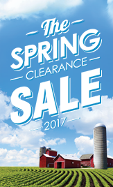 Spring Clearance 2017