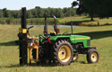 KPDT3P - KIWI Tractor-Mounted Post Driver