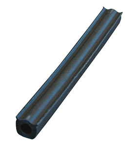 Flat Back Tube Insulator - Finned