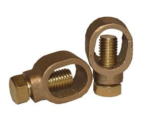 Ground Rod Clamp  -Brass