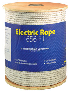 "¼"" Electric Rope"