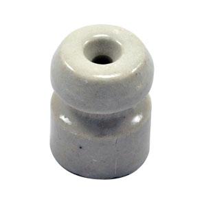 Zareba Single-Groove Wood Post Porcelain Insulator